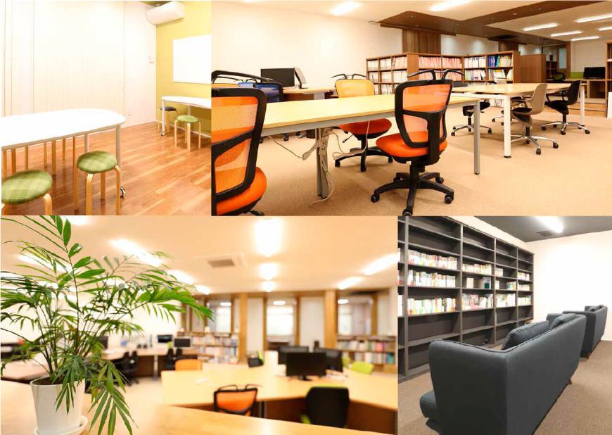環境に新たなオフィス空間